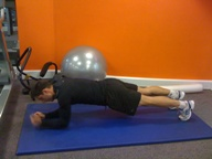 Ben Wilson Plank Exercise - Clapham Personal Trainer
