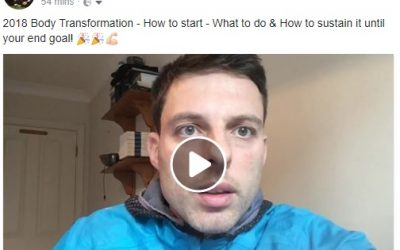 Facebook Live – 2018 Body Transformation Blueprint